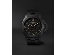 Tuttonero Luminor GMT Automatic 44mm Ceramic Watch, Ref. No. PAM01438
