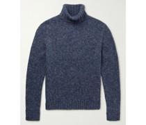 Alpaca-Blend Rollneck Sweater
