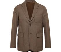 Puppytooth Tweed Suit Jacket