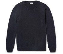 Merino Wool And Cotton-blend Sweater