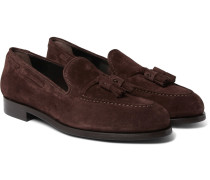 Simmons Suede Tasselled Loafers