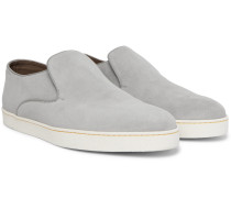 Haven Suede Slip-On Sneakers