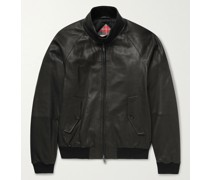 G9 Leather Harrington Jacket