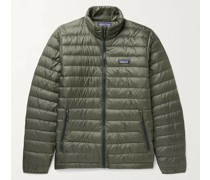 Quilted DWR-Coated Recycled Ripstop Down Jacket