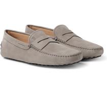 Gommino Nubuck Driving Shoes