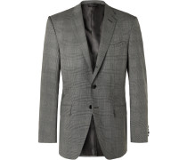O'Connor Prince of Wales Checked Wool-Blend Suit Jacket