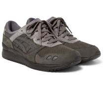 Gel Lyte Iii Nubuck, Suede And Mesh Sneakers