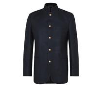 Seaton Nehru-Collar Cashmere Jacket