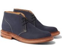 Oscar Triple-welted Nubuck Chukka Boots