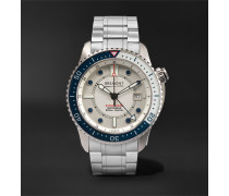Supermarine Waterman Limited Edition Automatic 43mm Stainless Steel and Kevlar Watch, Ref. No. S500