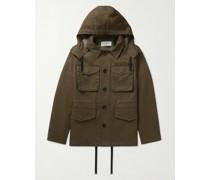 Aristide Tech-Twill Hooded Field Jacket