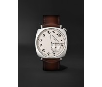 Historiques American 1921 Hand-Wound 40mm 18-Karat White Gold and Leather Watch, Ref. No. 82035/000G-B735