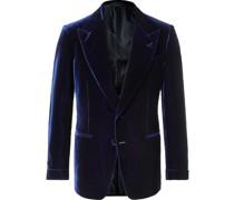 Shelton Slim-Fit Velvet Tuxedo Jacket