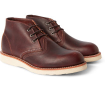 Work Leather Chukka Boots