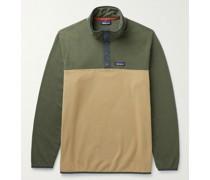 Micro D Snap-T Recycled Fleece Sweatshirt