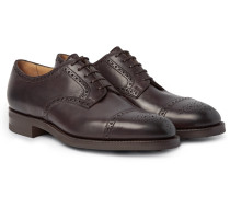 Cardiff Cap-toe Leather Brogues