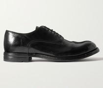 Balance Polished-Leather Derby Shoes