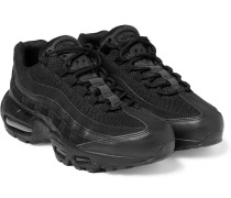 Air Max 95 Essential Mesh, Leather And Suede Sneakers