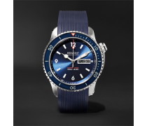 Supermarine S500 Blue Automatic 43mm Stainless Steel and Rubber Watch, Ref. S500-BL-2018-R-S