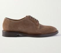 Lucien Suede Derby Shoes