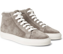 Apollo Suede High-top Sneakers