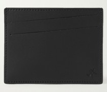 Branson Logo-Debossed Textured and Smooth Leather Cardholder