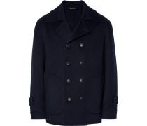 Deconstructed Cashmere Peacoat