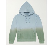 Dip-Dyed Cotton-Jersey Hoodie