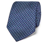 7cm Houndstooth Woven Silk Tie