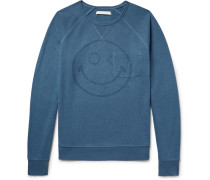 Happy Transit Printed Hemp-blend Sweatshirt