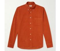 Pitt Button-Down Collar Cotton-Corduroy Shirt