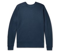 Loopback Organic Cotton-Blend Jersey Sweatshirt