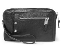 Creased-leather Pouch