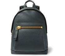 Buckley Pebble-grain Leather Backpack