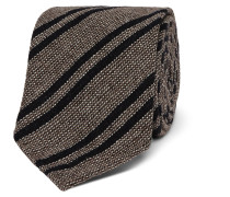 7cm Striped Wool, Cashmere And Silk-blend Tie