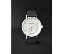Autobahn Neomatik Datum Automatic 41mm Stainless Steel and Nylon Watch, Ref. No. 1301