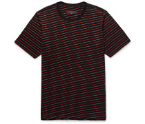 Colin Striped Cotton-blend Jacquard T-shirt