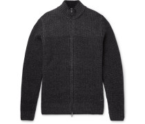 Wool And Cashmere-blend Zip-up Cardigan