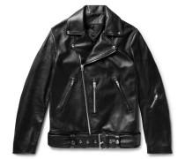 Nate Leather Biker Jacket