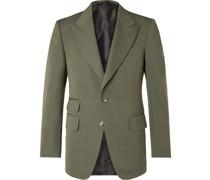 Shelton Slim-Fit Cotton Silk-Blend Suit Jacket