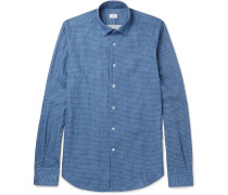 Kurt Slim-fit Checked Cotton Shirt