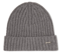 Benzo Ribbed Cashmere And Wool-blend Beanie