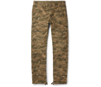 Dawson Camouflage-print Cotton-canvas Trousers