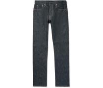 Slim-fit Raw Selvedge Denim Jeans