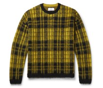 Checked Knitted Sweater