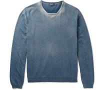 Washed Cotton-jersey Sweatshirt