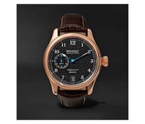 AC35 America's Cup Automatic 43mm 18-Karat Rose Gold and Alligator Watch, Ref. No. AC35