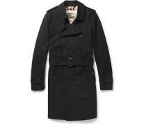 London Sandringham Long Cotton-gabardine Trench Coat