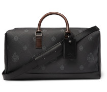 Venezia Leather-Trimmed Logo-Print Virée Canvas Holdall