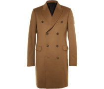 Slim-fit Double-breasted Wool And Cashmere-blend Epsom Coat